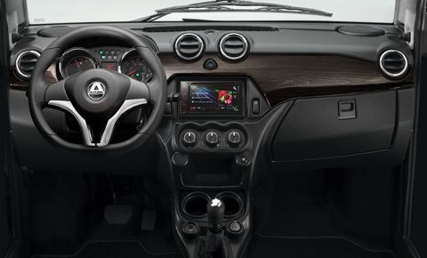 Nytt dashboard