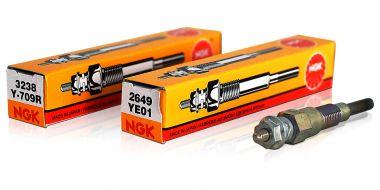 Glødeplugger og batteri